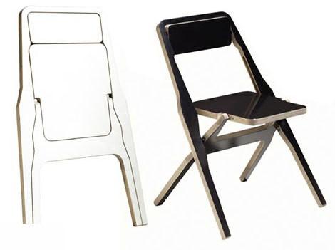 Складной металлический стульчик своими руками