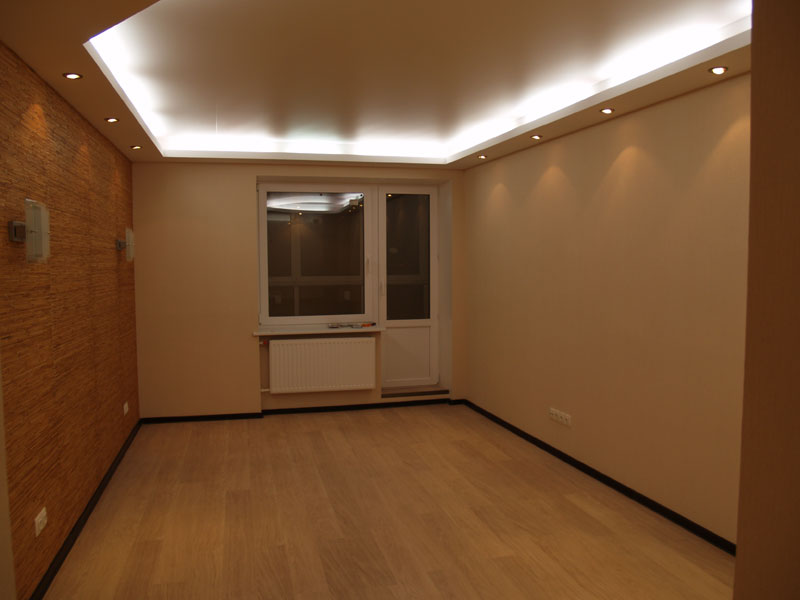 Отделка комнаты в квартире фото