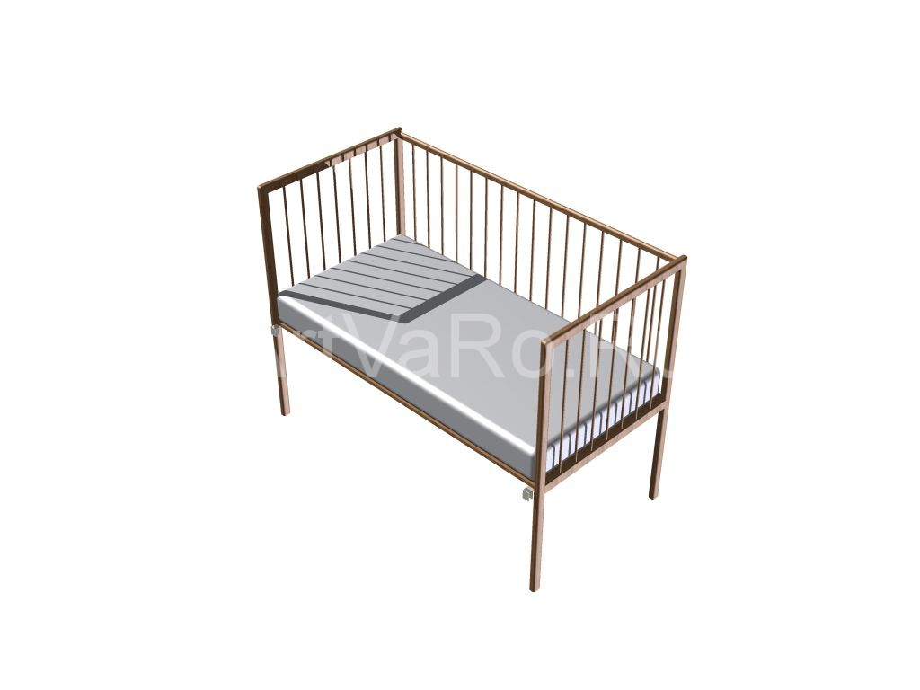 7 Кровать детская приставная