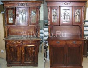 ремонт деревянной мебели
