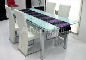 стол кухонный 300x210 Столы стеклянные для кухни