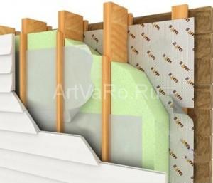 утепление 300x257 Использование минеральной ваты для утепления балкона