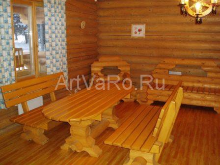 баня мебель Деревянная мебель для бани и сауны своими руками