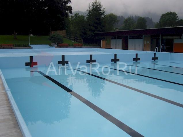 бассейн Гидроизоляция бассейнов