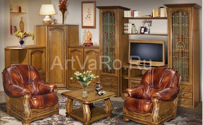 Мебель Из Дуба Для Гостиной