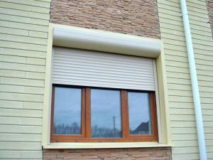Защитные роллеты на окна - монтаж