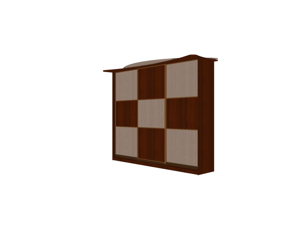 Проект шкафа-купе Комбинация вид 7